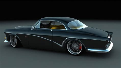 volvo amazon custom coupe  cartype