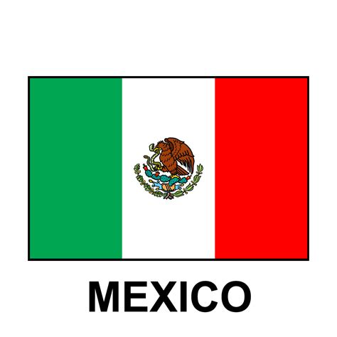 mexico flag colors clip flags united states color abcteach