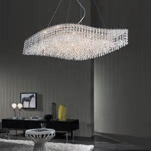 Chandelier Costco Di Luce Wave Shaped 9 Light Chandelier Costco