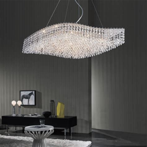 costco chandelier di luce wave shaped 9 light chandelier costco