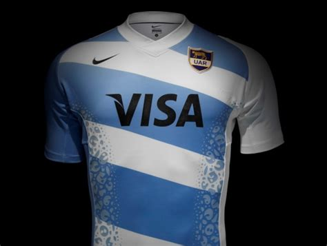 Jersey Argentina Home 2013 argentina rugby jersey nike 2013 con le quot impronte quot giaguaro ama la maglia
