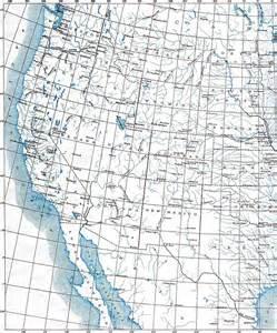 western united states map western united states
