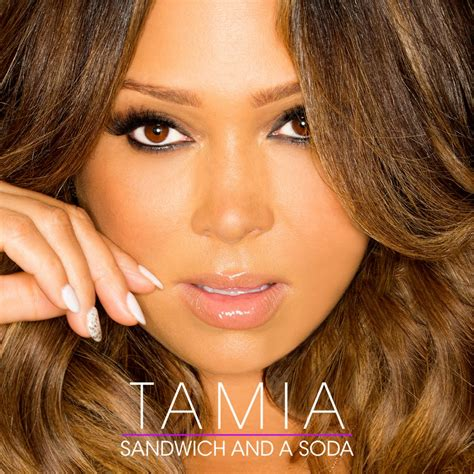 Cd Tamia Tamia new tamia sandwich and a soda thisisrnb new r b