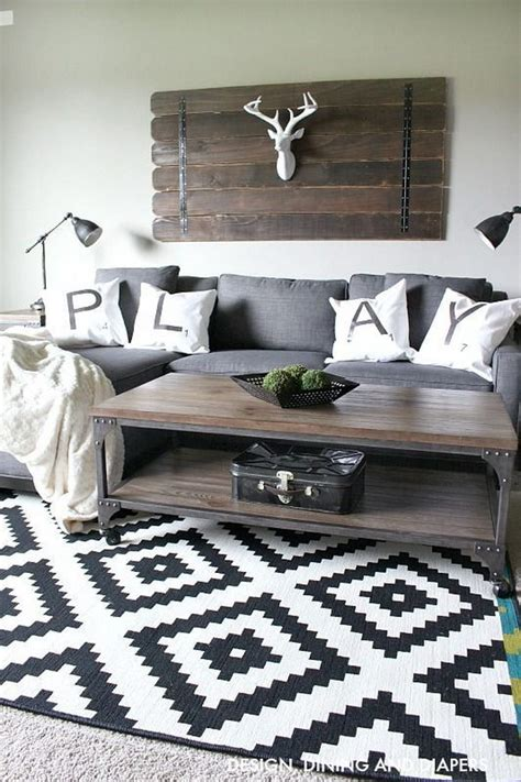 rustic modern living room furniture 30 pretty rustic living room ideas noted list