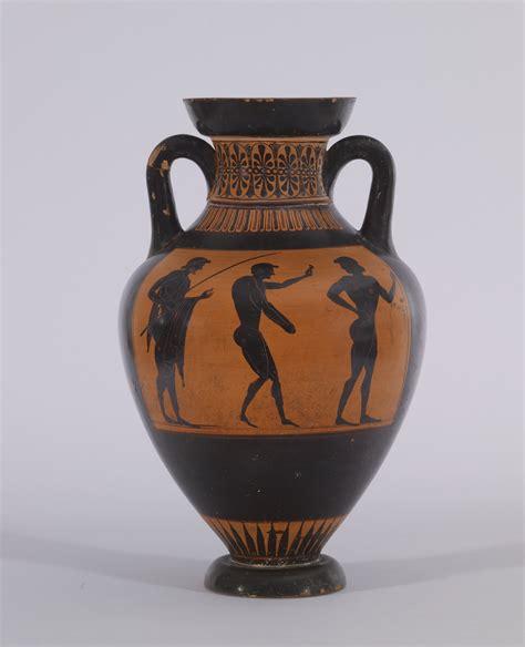 English Vase File Vatican G 23 Group Black Figure Pseudo Panathenaic