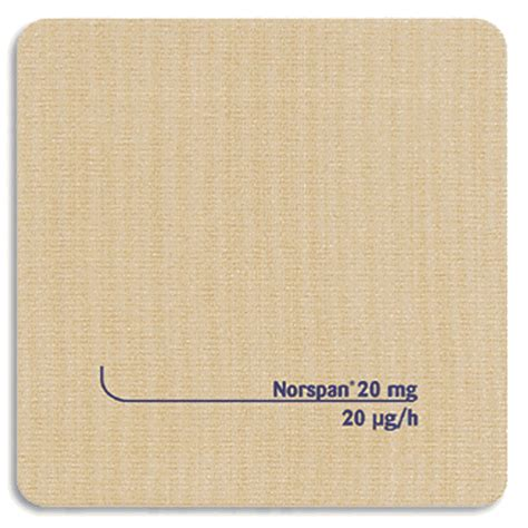 Norspan Detox by Use Of Buprenorphine Patch Todayoutdoorq1