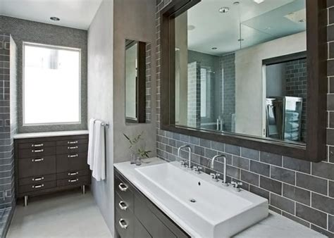 grey tiled bathroom ideas a look at 15 sophisticated gray bathroom designs home design lover