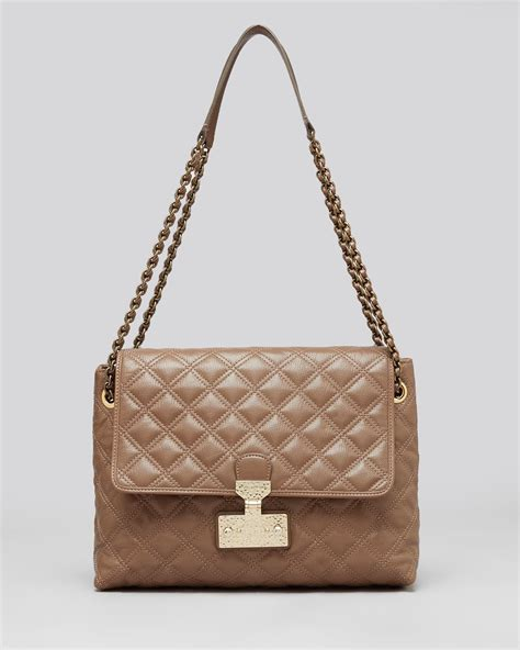 Marc Dita Large Quilted Purse by Lyst Marc Shoulder Bag Quilted Baroque Xl Single