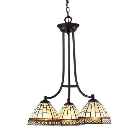 Prairie Style Chandelier shop z lite prairie garden 3 light chestnut bronze