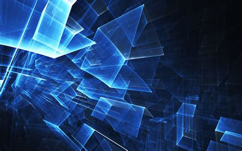 wallpaper blue cube wallpaper for desktop laptop vl87 abstract blue cube