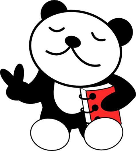 animasi kepala panda clipartsco