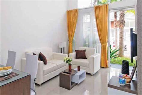 contoh desain ruang tamu minimalis ukuran  nyaman