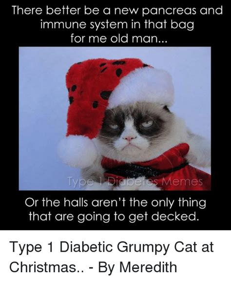 Grumpy Cat Memes Christmas - 25 best memes about grumpy cat and type 1 diabetes