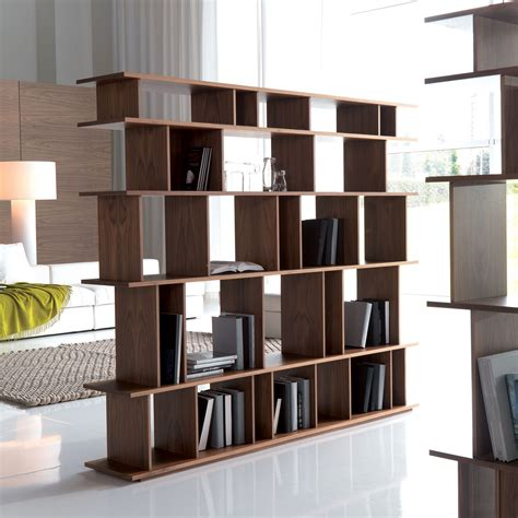pareti divisorie librerie libreria divisoria di design loft di cattelan arredaclick