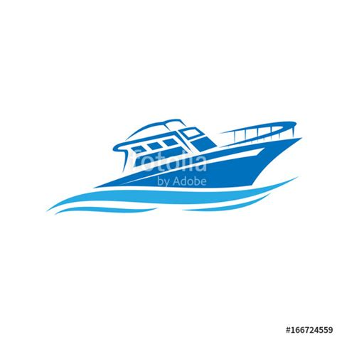 speed boat logo quot boat logo sail boat speed boad logo design quot stock image