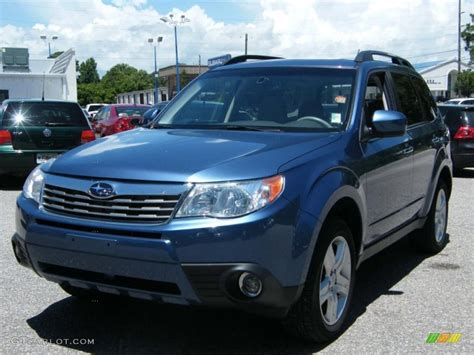 blue subaru forester 2009 2009 newport blue pearl subaru forester 2 5 x limited