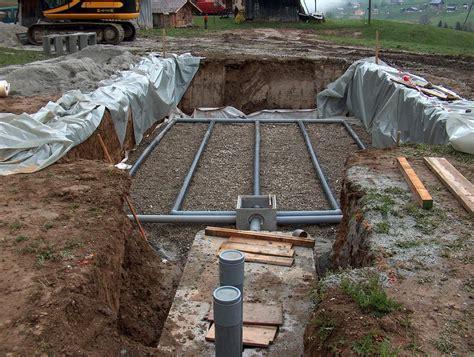 Installer Une Fosse Septique 3307 comment poser une fosse septique