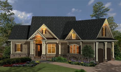cottage style colorful single story cottage style house plans house