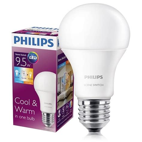 Lu Led Philips Switch philips switch 2 in 1 led bulb launched priced at