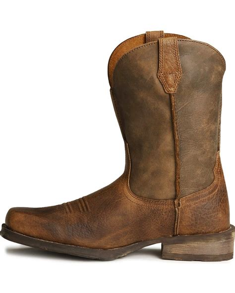 toe cowboy boots for ariat rambler cowboy boots square toe country outfitter