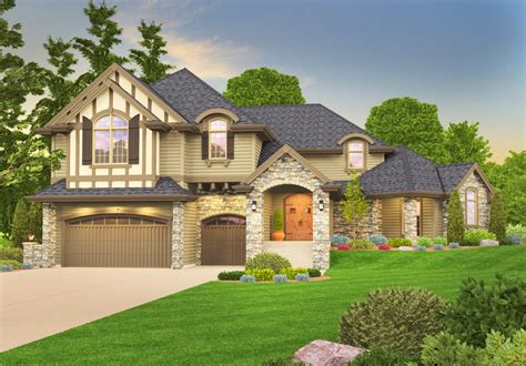 tudor home designs tudor plans architectural designs