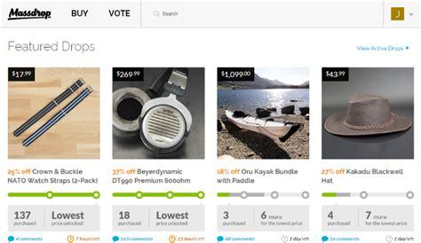 massdrop   platform  buying items  bulk