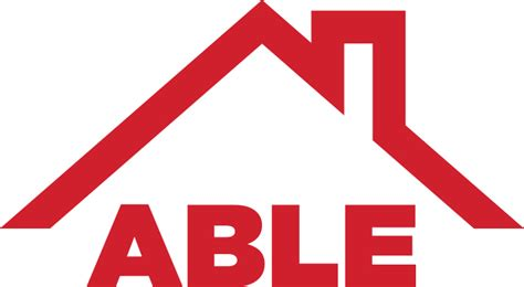 best home logo roofing columbus ohio able roofing