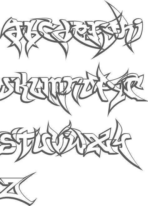 myfonts gangster fonts graffiti alphabet graffiti font