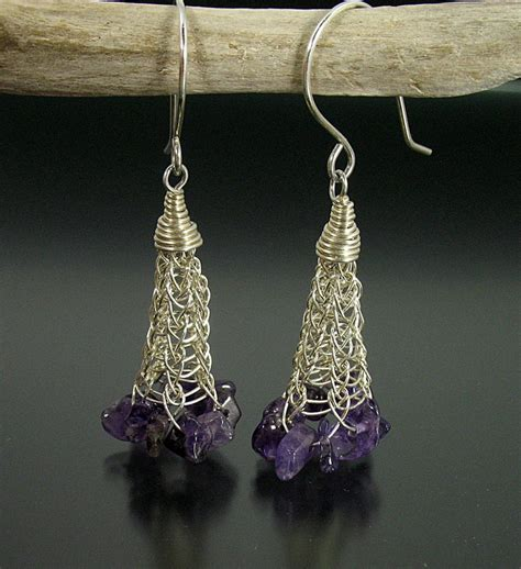 viking knit earrings 17 best ideas about viking knit on wire