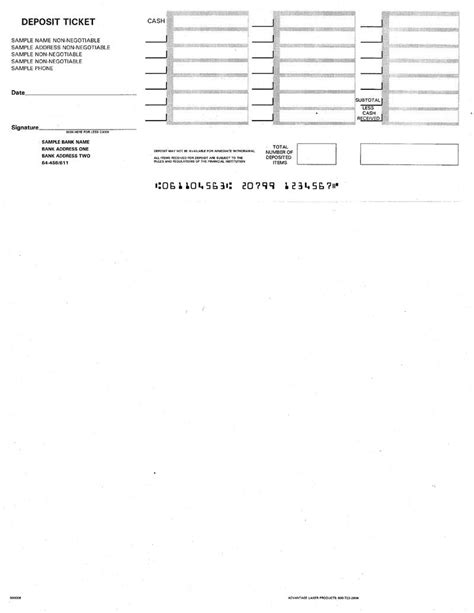 discount printable deposit slips for quickbooks big sale