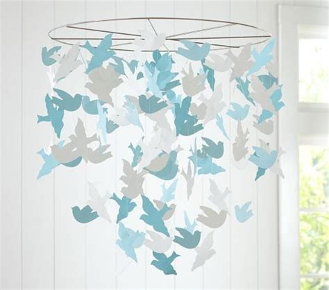 Paper Mobiles To Make - bird paper mobile modern baby mobiles by pottery