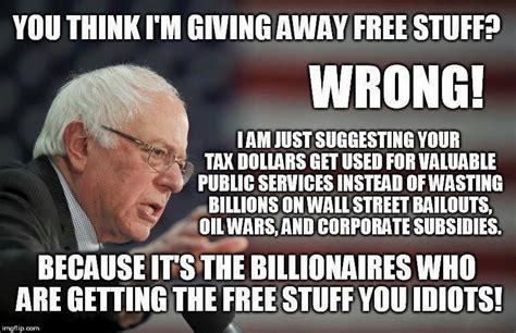 Bernie Sanders Memes - political meme tracker electomatic political news