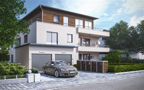 mehrfamilienhaus architektur mehrfamilienhaus architekturvisualisierung render vision