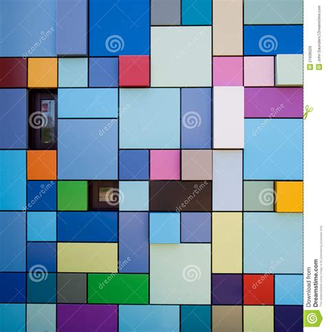 colorful designer colorful wall design royalty free stock images image