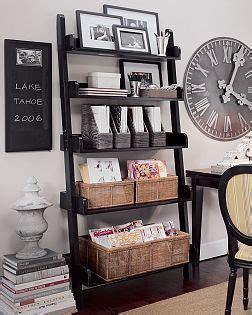 ladder shelves pottery barn best 25 ladder shelf decor ideas on ladder