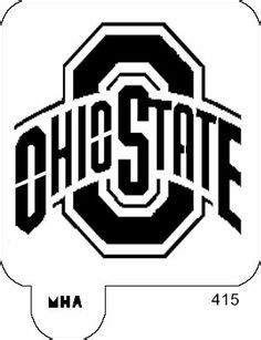 ohio state logo stencil  google search ohio state