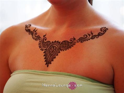 pinterest tattoo necklace a delicate henna necklace by hennalounge via flickr