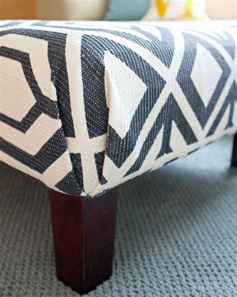 how to recover an ottoman without sewing pinterest the world s catalog of ideas
