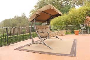 stc santa fe patio glider with canopy jh319c on sale now