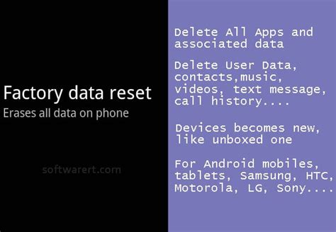 android mobile reset how to recover mobile data after factory reset