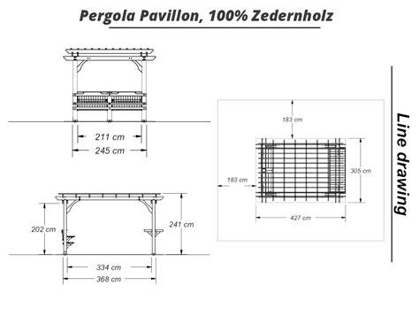 pavillon viereckig boxxis pergola pavillon viereckig mittelbraun lasiert