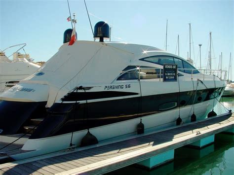 boats for sale vilamoura pershing 56 in m de vilamoura motor yachts used 66505