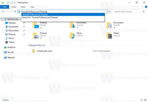 themes windows 10 folder how to remove and delete default themes in windows 10