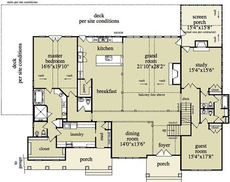 single floor country house plans farmhouse barns and style on pinterest
