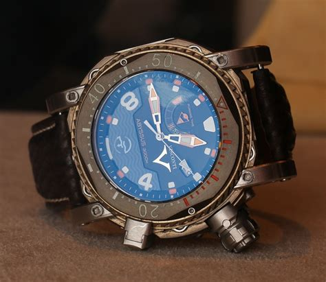 visconti abyssus scuba 3000m dive watches on