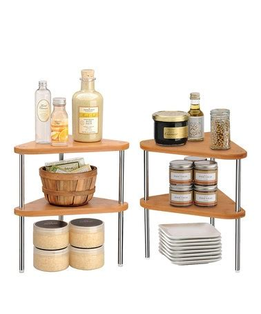 Bamboo Stacking Shelf by Stacking Shelves Bamboo And Set Of On
