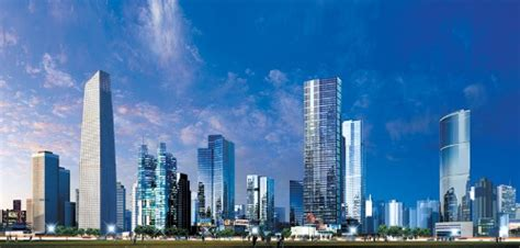 Skyline Mba Fees by Another One New Financial District Planned For Southern