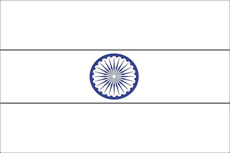 coloring page for indian flag indian flag coloring page coloring page india flag