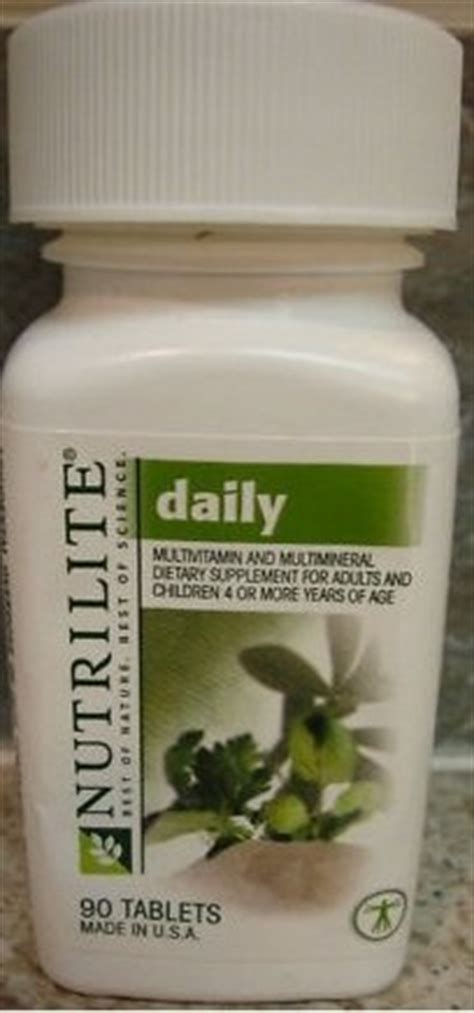 8 Essential Vitamins For by Nutrilite 174 Daily Multivitamin Multimineral 24 Essential