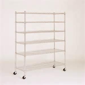 6 shelf wire shelving 6 tier multi purpose wire storage rack wire shelf additions